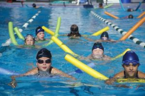 Swimmers FLDPF Florida Drowning Prevention Foundation Aqua Ball